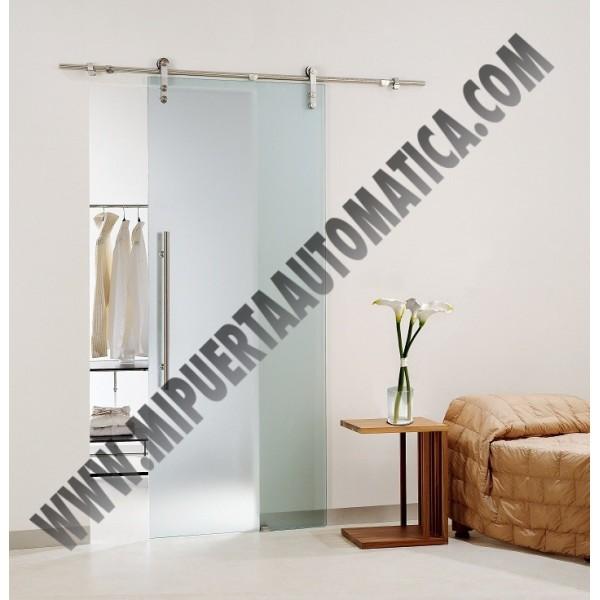 Puerta corredera cristal barata precios puertas manuales - Puerta corredera cristal barata ...