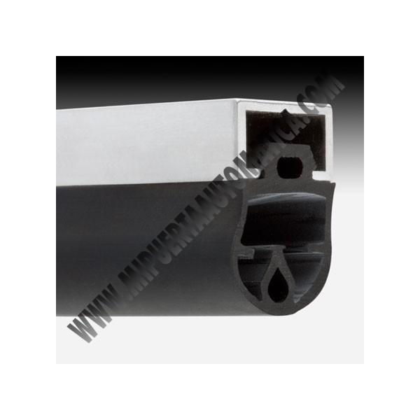 Homologaci n de puertas basculantes perfil aluminio y for Perfiles de aluminio para toldos