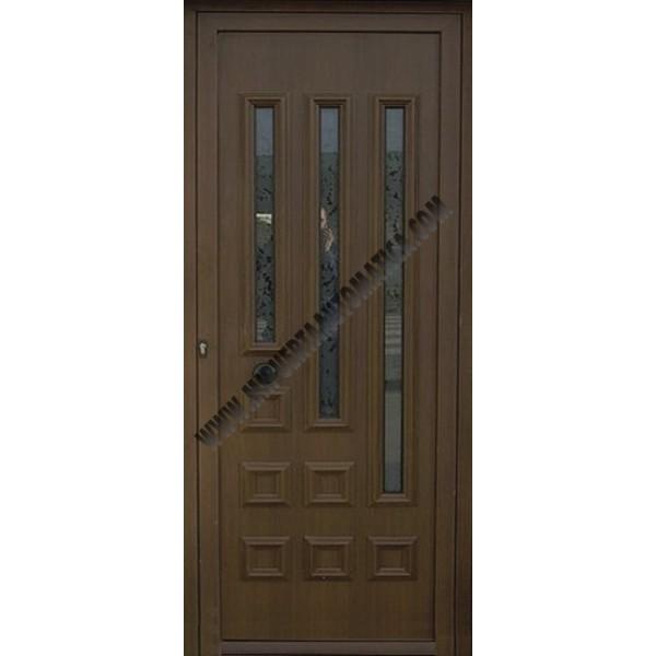 Puertas residenciales puerta entrada para viviendas for Puerta maciza precio