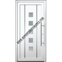 Puertas acorazadas para casas puerta de entrada puerta - Puertas metalicas roper ...