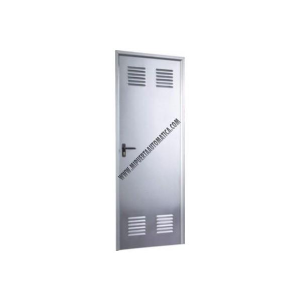 Comprar puerta galvanizada trastero puerta multiusos - Puertas de chapa galvanizada precios ...
