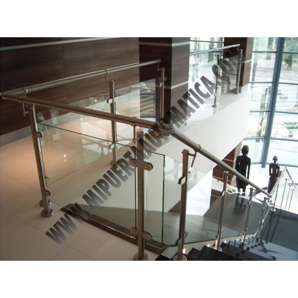 Barandilla acero inoxidable y cristal for Barandillas de acero inoxidable y cristal