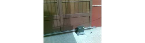 Accesorios fabricación de puertas correderas