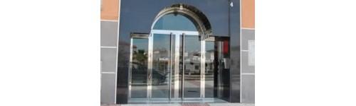 Puertas y portales de acero inoxidable