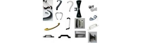 Tiradores y manillas de aluminio